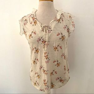 Lucky Brand | Floral Blouse Top